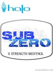 SubZero 10ml / 12mg - никотинова течност Halo