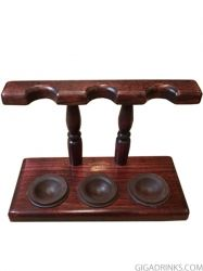 Mr. Brog 3 Pipes Stand