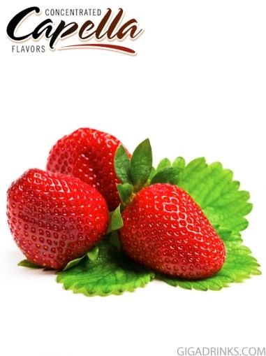 Sweet Strawberry 10ml - концентриран аромат от Capella Flavors USA