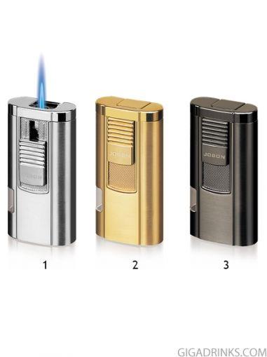 Запалка Jobon с джет пламък и цигаре
