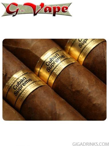 Cuban Supreme 10ml / 18mg - никотинова течност G-Vape