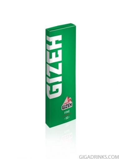 Gizeh Green Fine Cut Corners (70mm)