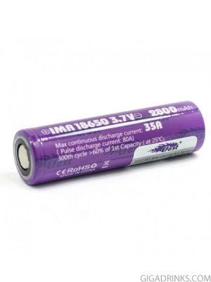 Батерия Efest 18650 IMR 2800mAh 35A 3.7V Purple
