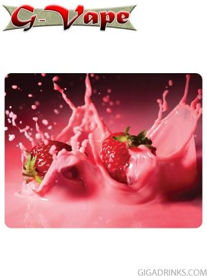 Strawberry Milkshake 10ml / 6mg - никотинова течност G-Vape