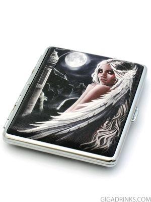 Табакера Cool Fantasy Girl за 18 цигари с дължина 80мм
