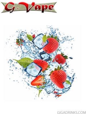 Strawberry Menthol 30ml / 12mg - никотинова течност G-Vape