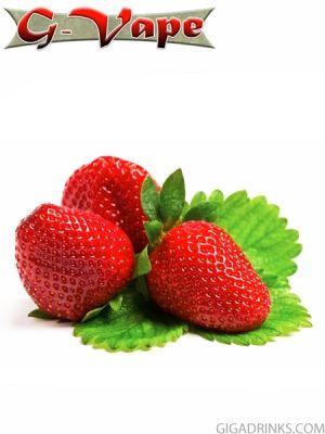 Strawberry 30ml / 0mg - безникотинова течност G-Vape