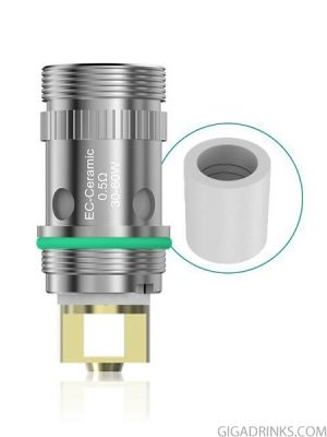 Eleaf EC Ceramic Coil head for iJust 2 / Melo / Melo 2 / Melo 3 / Melo 3 Mini / Lemo 3