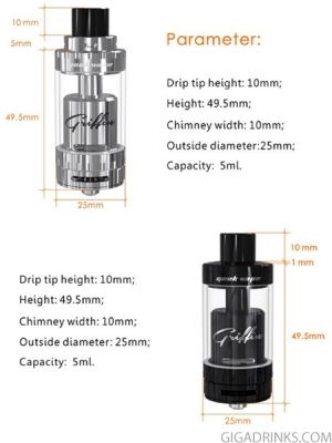 Geek Vape Griffin 25 Plus RTA Black