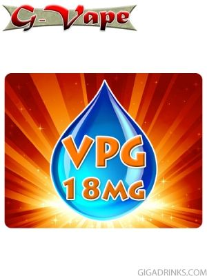 VPG 10ml / 18mg 5pcs. TPD Ready - G-Vape base liquid for electronic cigarettes