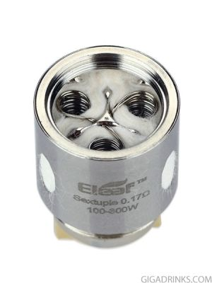 Eleaf ES Sextuple 0.17ohm coil for Melo 300