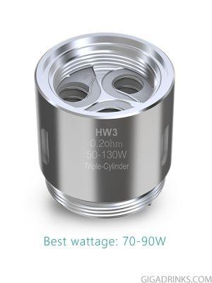Eleaf HW3 Tripple-Cylinder coil head