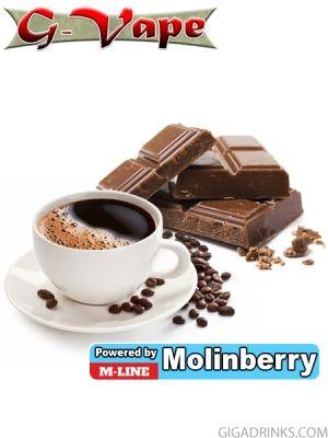 Dark French Coffee 10ml - концентриран аромат за овкусяване от Molinberry / G-Vape