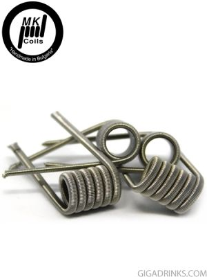 Framed Staple Fused Clapton 2x26GA/6x.05x.1/1x36GA Fuse 0.20 Ohm