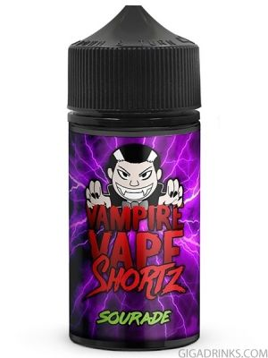 Sourade 50ml 0mg - Vampire Vape Shortz