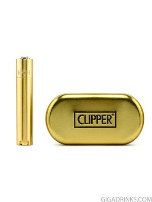 Запалка Clipper Metal Gold