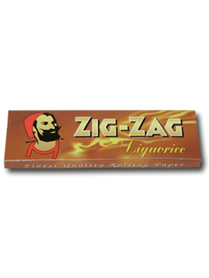 Zig Zag Liquorice (70mm)
