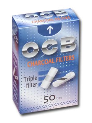 Филтри OCB Charcoal с активен въглен (8mm)