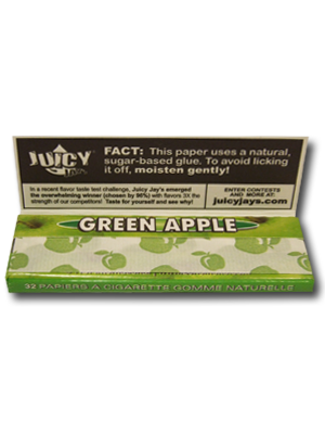 Juicy Jay's Green Apple (80mm)
