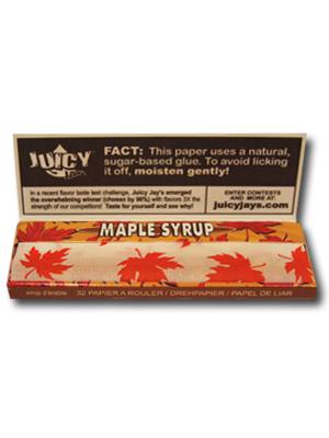 Juicy Jay's Maple Syrup (80mm)