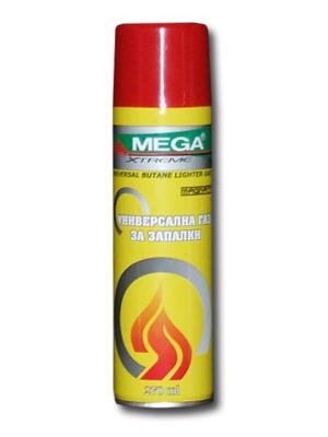 Газ за запалки Mega 270мл с пластмасов накрайник