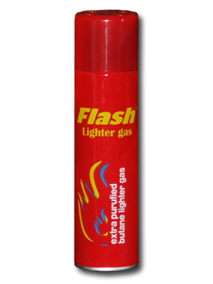 Газ за запалки Flash 270мл с метален накрайник