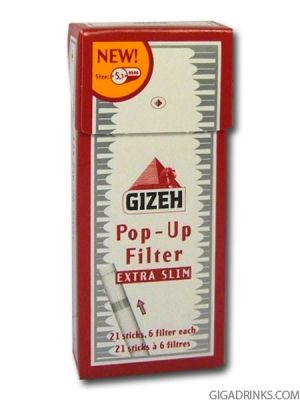 Gizeh Extra Slim Pop Up 126бр.
