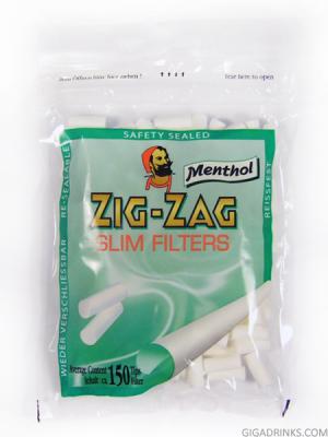 Zig Zag Menthol Slim (6mm)