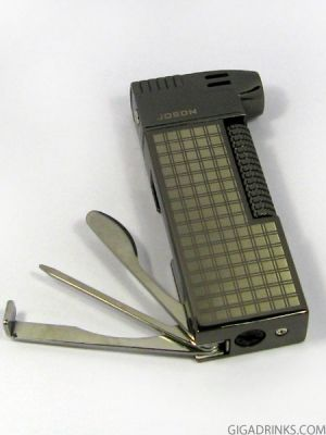 Jobon pipe lighter with cleaning set