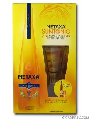 Метакса 5* 0.7л с чаша