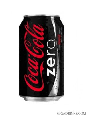 Кока Кола Зиро кен 0.33л
