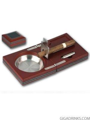 Комплект пепелник за пури