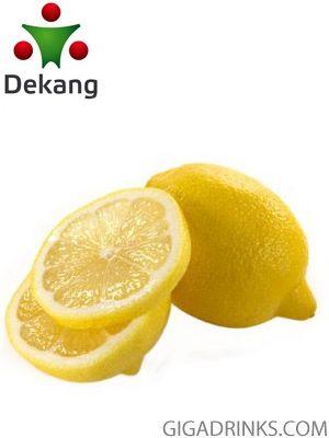 Lemon - никотинова течност за ел.цигари Dekang