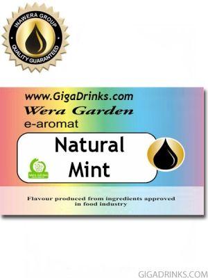 Natural Mint 7мл - aромат за никотинова течност Inawera Wera Garden