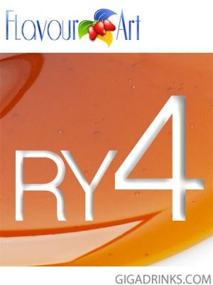 RY4 10ml / 9mg - никотинова течност за ел.цигари Flavour art