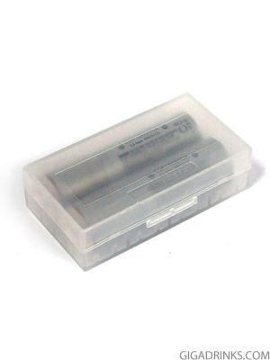 Кутия за 2 батерии 18650