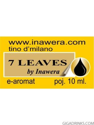 7 Leaves - aромат за никотинова течност Inawera Tino D'Milano 10мл.