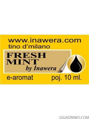 Fresh Mint - aромат за никотинова течност Inawera Tino D'Milano 10мл.