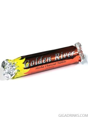 Въглен за наргиле Golder River - голям