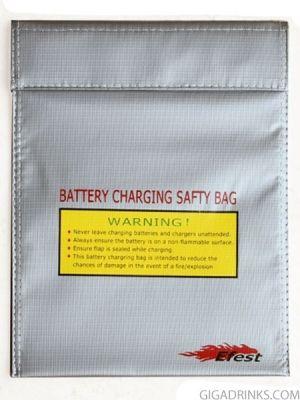 Чанта EFEST за предпазвае и сигурност при зареждане на батерии