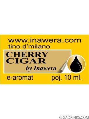 Cherry Cigar - aромат за никотинова течност Inawera Tino D'Milano 10мл.