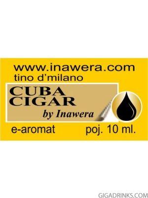 Cuban Cigar - aромат за никотинова течност Inawera Tino D'Milano 10мл.