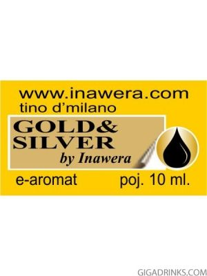 Gold & Silver - aромат за никотинова течност Inawera Tino D'Milano 10мл.