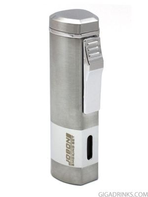 Jobon butane lighter with tripe jet torches