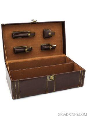 Кутия за вино - двойна