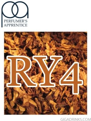 RY4 Double - аромат за никотинова течност The Perfumers Apprentice 10мл