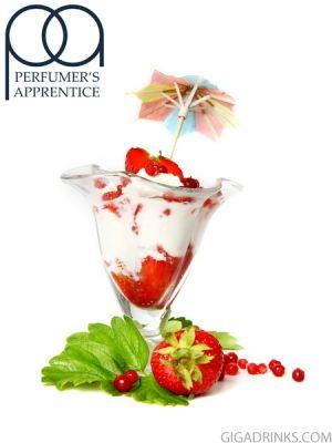 Strawberries and Cream - аромат за никотинова течност The Perfumers Apprentice 10мл