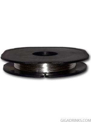 Сребърен проводник без съпротивление (Silver Wire) 0.25mm / 0.5m