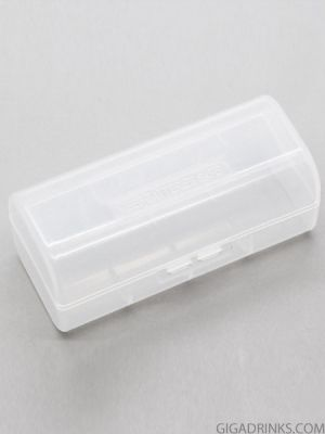 Plastic case for 1pc 26650 battery