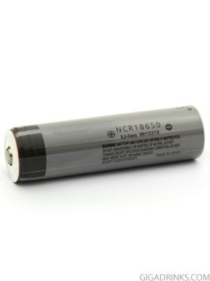 Батерия 18650 Panasonic NCR 2900mAh 10A 3.7V Nipple top